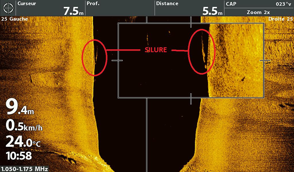 Méga Side Imaging 5